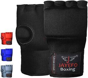 Kickboxing Speed Hand Wraps Boxing Gloves MMA Muay thai padded easy inner wraps