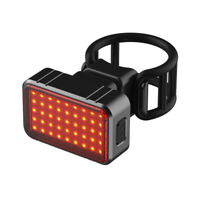 H3E# USB Rechargeable LED Bicycle Cycling Tail Light Bike Safety Warning Lamp