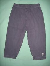 Girls British Home Stores BHS navy leggings age 18-24 months