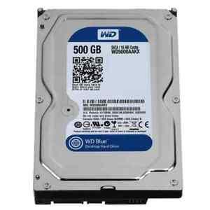 """Disco Duro 500GB 3,5"""" HDD Interno (Reacondicionado)"""