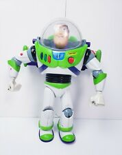 "Vintage Thinkway 12"" Buzz Lightyear Ultimate Talking Action Figure Toy Story 90s"
