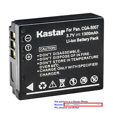 Kastar Replacement Battery for Panasonic CGA-S007 & Panasonic LUMIX DMC-TZ4S