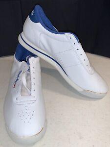 New Reebok Princess Sneakers/Shoes - WhiteRoyal - Women's Size 10 - FV5294