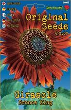 5/6 Semi/Seeds GIRASOLE Bronce king