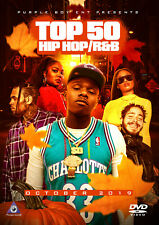 Top 50 October 2019 Hip Hop Rap R&B Music Video Dvd Dababy Post Malone Lizzo