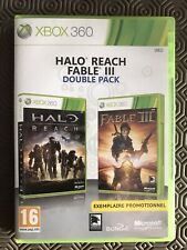 Double Pack Xbox 360 Exemplaire Promotionnel / Halo Reach + Fable III / VF