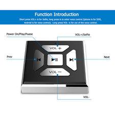 Universal Car Wireless Bluetooth Media Music Steering Wheel Remote Control RE