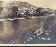Cebolla Colorado RPPC Ghost Town Sportsmans Hunting Fishing Hotel Gunnison Card