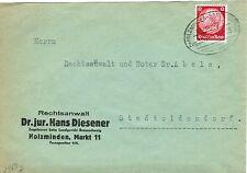 Ungeprüfte Briefmarken aus dem deutschen Reich (1933-1945) mit Einzelfrankatur und Post, Kommunikation