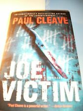 Joe Victim : A Thriller by Paul Cleave Paperback New