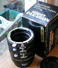 NIKON AI   fit  Auto extension tubes set (japan)  super paragon badged (used)
