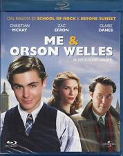 Blu Ray disc **ME & ORSON WELLES** con Zac Efron Sigillato Nuovo 2009
