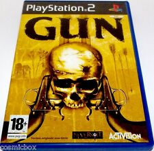 PlayStation 2 jeu video GUN duel western cow boy tir console ps2 complet TBE