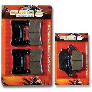 Honda F+R Brake Disc Pads CBR 600 F4 (1999-2006) Sport CBR600 RR (2003-2004)