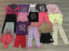 Toddler Girl Clothing Lot, 19 Items, 5T, Champion, Cat & Jack, Circo, Jordache