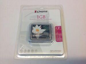 Kingston 1GB Compact Flash * NEW *
