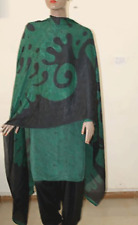 Green Black Salwar kameez Chest   Plus Size 50