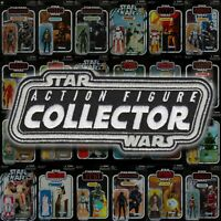 "Kenner STAR WARS-The Vintage Collection ""ACTION FIGURE COLLECTOR"" 5 inch patch"