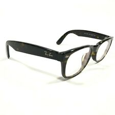 Ray Ban Yellow Black Tortoise Round Eyeglasses Glasses Frames RB5184F 2012 145