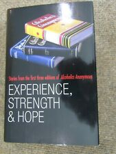 AA Book Experience Strength & Hope ~ 1st Printing Hardcover ~ Unused New