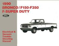 OEM Shop Manual Ford Truck F250 Hd//F350//F-Super Duty Evtm 1997