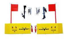 "2Pcs Planer Board With Spring Flag system,L&R Side,Medium Size,L8""xW3"" ,k009"