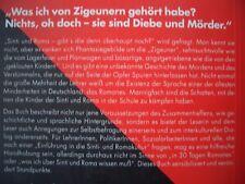 SINTI/ROMA/ZIGEUNER  schattenkämpfe EINFÜHRUNG ROMAKULTUR/SPRACHE romanes