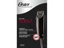 Oster Professional Topaz (Black Fast Feed) Adjustable Blade Clipper 76023-310
