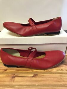 Womens Swinger Square Dance Shoes, Size 10 N (NARROW) Red Vintage