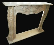 Fireplace Marble Classic Interior Design Style Louis XVI