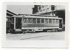 1898 WILMINGTON CHESTER & PHILADELPHIA TRACTION Trolley Delaware DE PA Photo 1