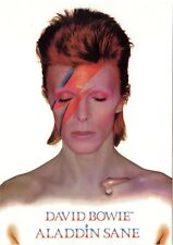 David Bowie Aladdin Sane Postcard Official 10cm x 15cm