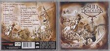 SUN DESCENDS - TIDE & LAW CD 2005 METAL ROCK