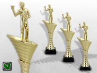 DART Pokale 3er Pokalserie DART OLYMP mit Gravur günstige Dart Pokale kaufen