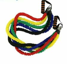 Yoga Pull Rope Elastic Bands Fitness Resistance Exercise Equipment Workout Gym