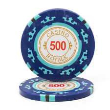 Casino Royale $500 Poker Chips 14g - 25 Chips (90-8107)