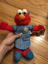 Elmo Doll Plush Sleepy Night Time Pj Pajamas Stuffed Animal Doll Kids Nanco New