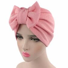 10 Color Women Stretch Turban Hat Cancer Chemo Beanie Cap Turban Hijab