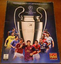 ALBUM CALCIATORI PANINI UEFA CHAMPIONS LEAGUE 2011 - 2012 -COMPLETO C.V. MV 6/17