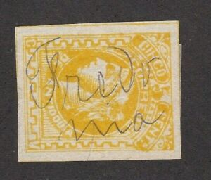 Antioquia Colombia States #39 Cancel Fredonia only 20,000 Printed