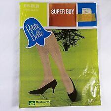 Nylon Stocking Size 10 Petite Belle Suntone Vintage
