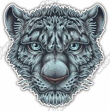 "Tiger Blue Face Cat Wild Life Animal Car Bumper Vinyl Sticker Decal 4""X5"""