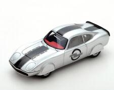 Opel GT Elektro Rekordwagen 1973 silber 1:43 Bizarre