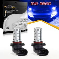 2pc 9006 HB4 Blue Super Bright Projector 33-5730-SMD LED Fog Driving Light Bulbs