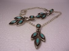 turquoise settings,real or faux? necklace and earrings with