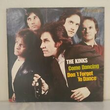 """The Kinks–Come Dancing / Don't Forget To Dance (Vinyl 12"""" Maxi 45 Tours)"""