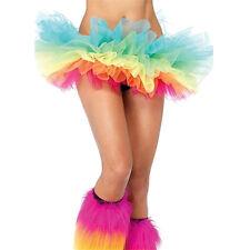 "FATA Principessa UK 5 Strati Arcobaleno Colore Danza Tutu CLUB ""rara Rave Festival Wear"