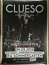 CLUESO 2015 BERLIN  - orig.Concert Poster  --  Konzert Plakat  A1 NEU