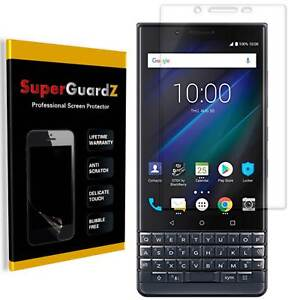SuperGuardZ Clear FULL COVER Screen Protector Guard Film For BlackBerry KEY2 LE