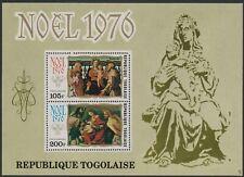 Togo #C297a MNH S/S Christmas 1976